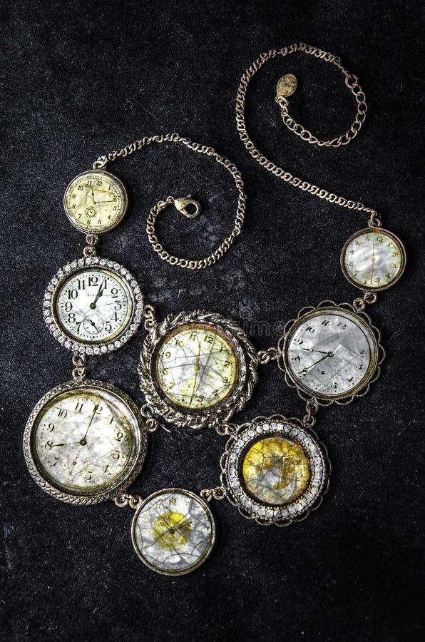 Weinlese-Uhren lizenzfreie stockfotografie
