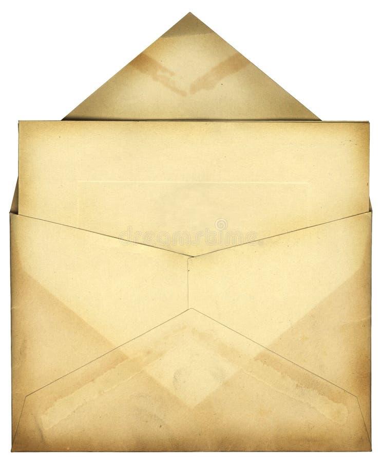 Weinlese-Umschlag Lizenzfreie Stockbilder