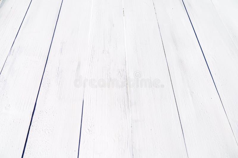 Weinlese und schmutzige weiße Bretter stockfotos