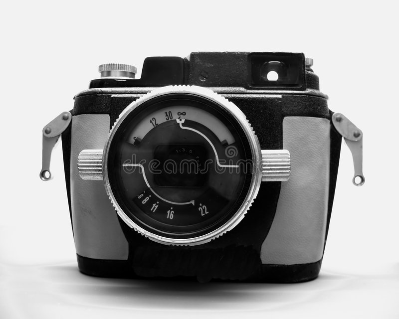 Weinlese-Unterwasserkamera lizenzfreie stockfotos
