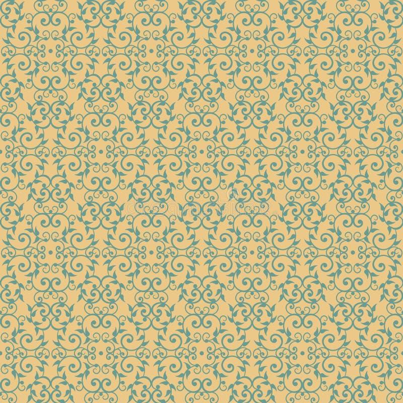Weinlese Victorian_Yellow lizenzfreie abbildung