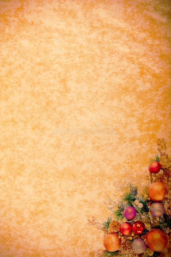 Weinlese-WeihnachtenDesing Serie lizenzfreie abbildung