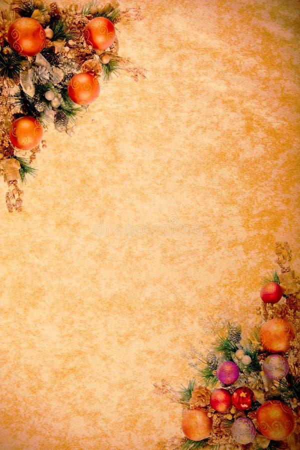 Weinlese-WeihnachtenDesing Serie vektor abbildung