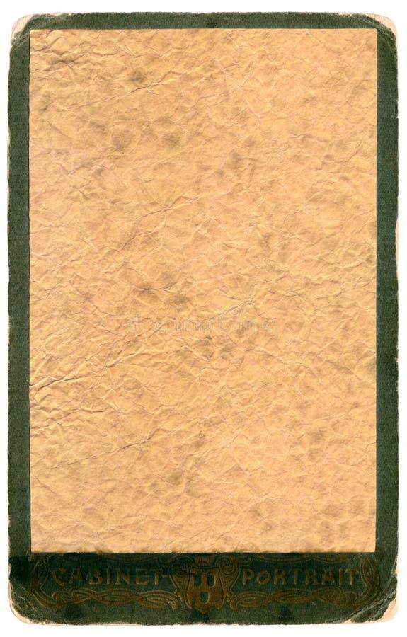 Weinlesealbum-Fotofeld auf einem Weiß vektor abbildung