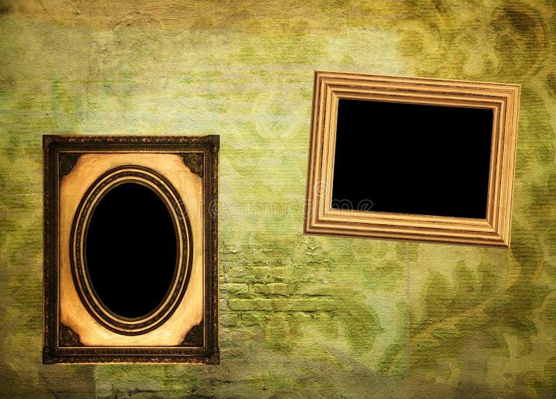 Weinlesealbumseite vektor abbildung