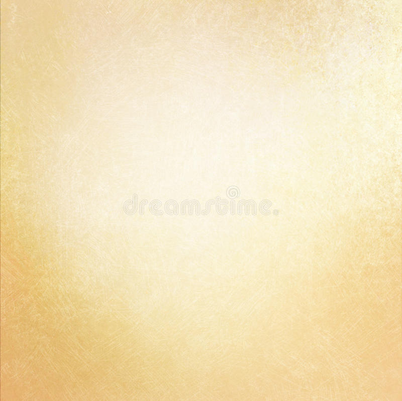 Weinlesealter Papierhintergrund mit weicher Goldfarbe und verkratzter Beschaffenheit