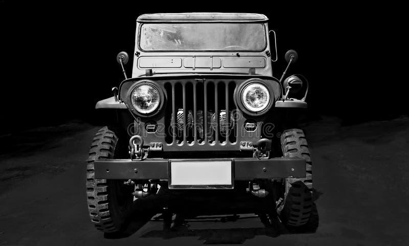 Weinleseauto Willys-Jeep lizenzfreies stockbild