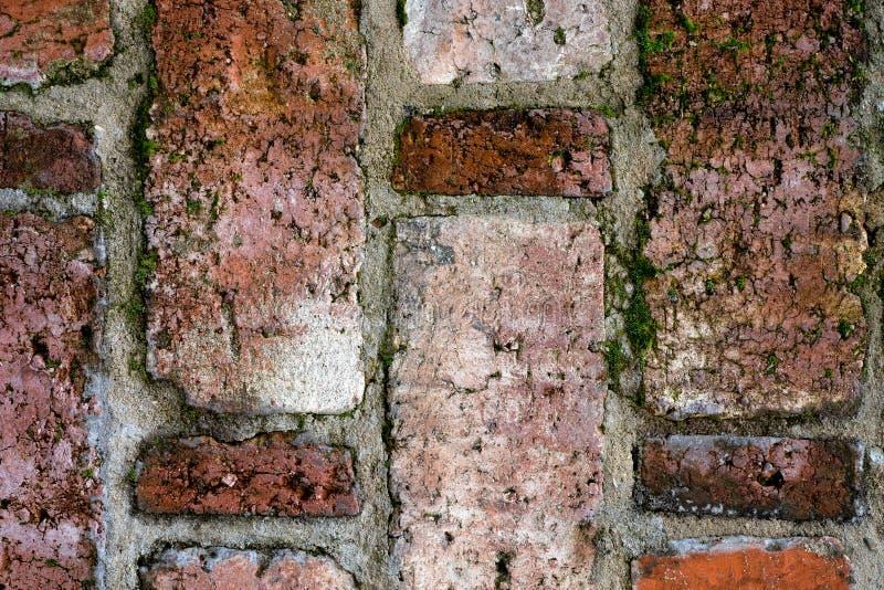 Weinlesebeschaffenheit der alten Maurerarbeit in der nahen Ansicht lizenzfreie stockfotografie
