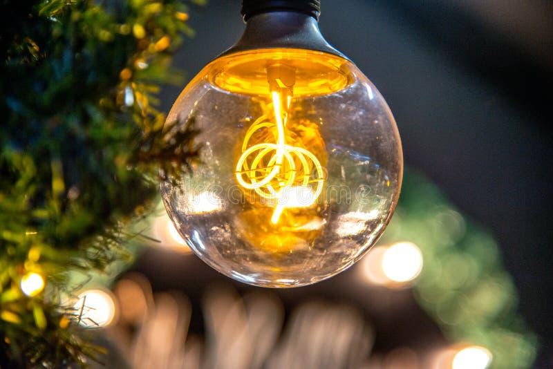 Weinlesebirne für Weihnachten stockbild