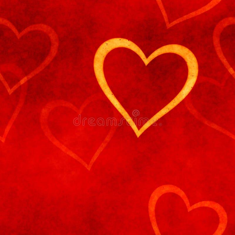 Weinlesefahne Valentinsgrußtag vektor abbildung