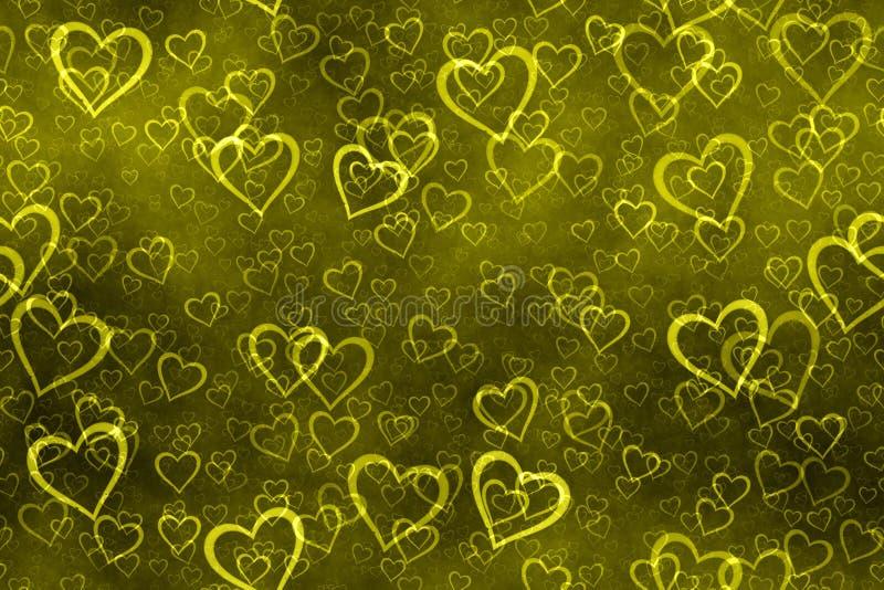 Weinlesefahne Valentinsgrußtag lizenzfreie abbildung