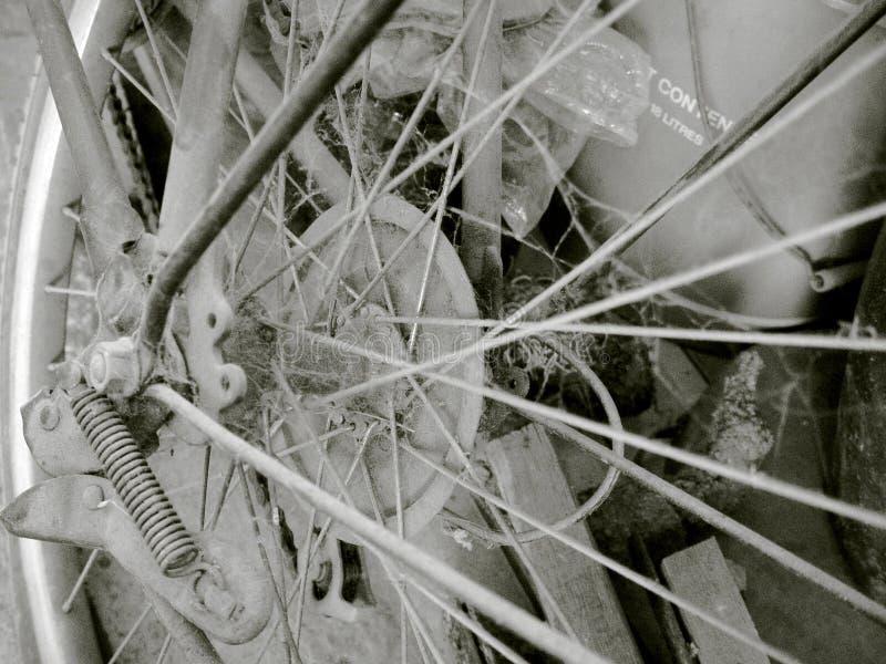 Weinlesefahrrad 01 lizenzfreie stockbilder