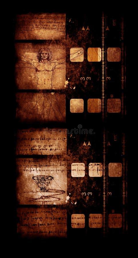 Weinlesefilm lizenzfreie stockbilder