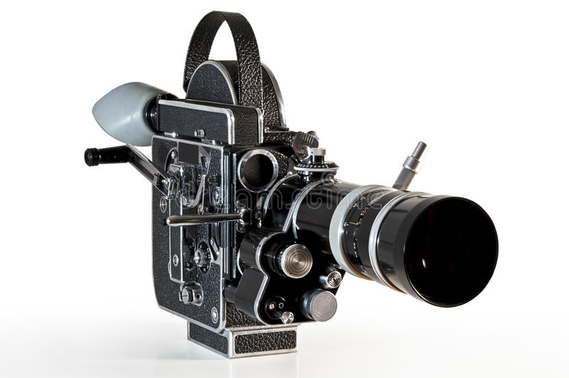 Weinlesefilmkamera lizenzfreie stockbilder