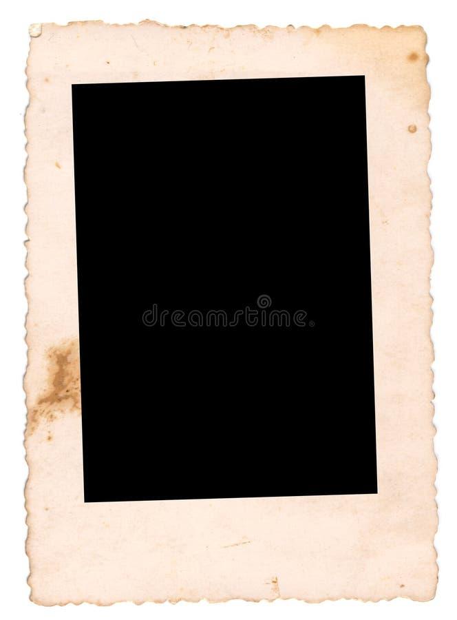 Weinlesefoto stockbild