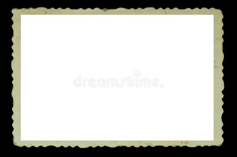 Weinlesefotofeld lizenzfreies stockfoto