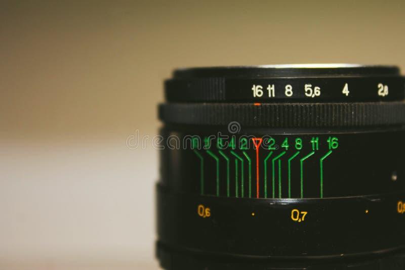 Weinlesefotolinse lizenzfreies stockfoto