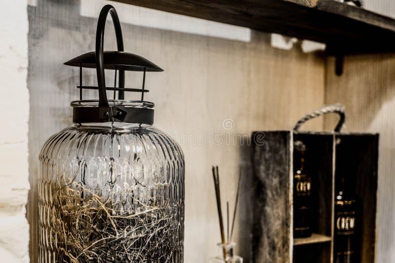 Weinlesefriseursalonwerkzeuge stockbilder