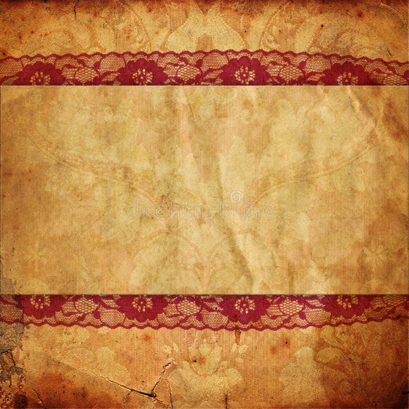 Weinlesehintergrund in der viktorianischen Art lizenzfreie abbildung