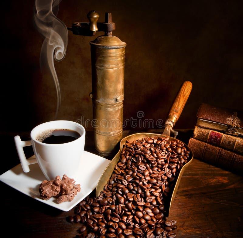 Weinlesekaffee lizenzfreies stockfoto