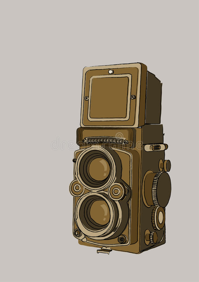 Weinlesekamera lizenzfreie stockfotografie