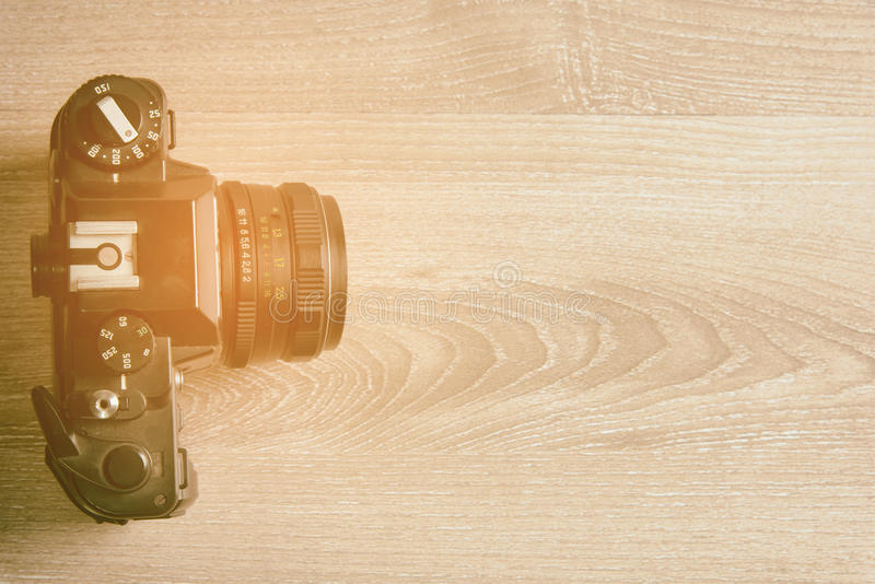 Weinlesekamera, klassische Kamera stockbilder