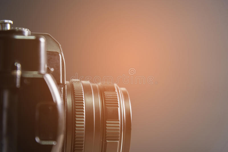 Weinlesekamera, klassische Kamera lizenzfreie stockfotografie