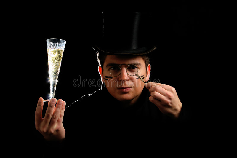 Weinlesekerl lizenzfreies stockbild