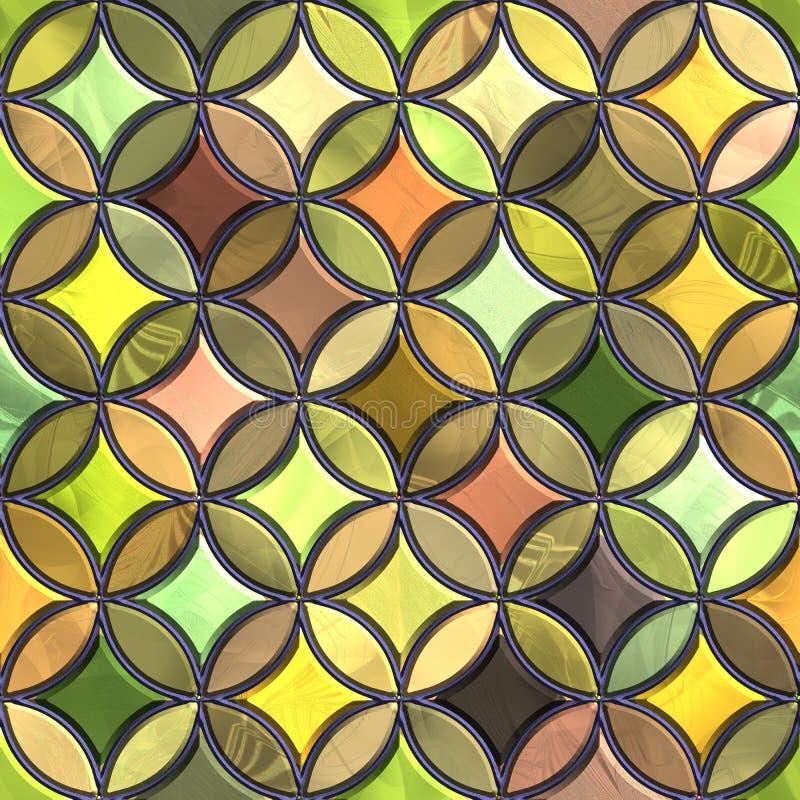 Weinleselehmfliese stockbild