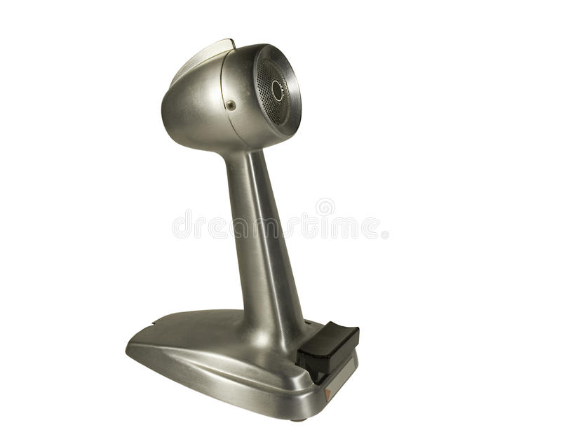 Weinlesemikrofon trennte lizenzfreies stockbild