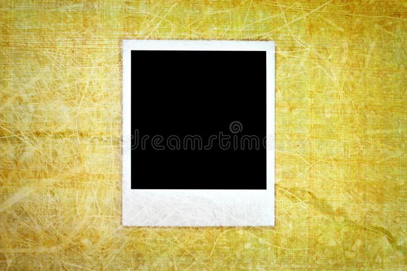 Weinlesepolaroid lizenzfreie stockfotografie