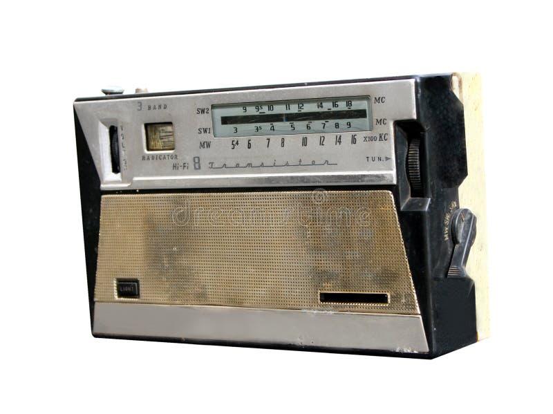 WeinleseRetro- Radiotransistor stockbild