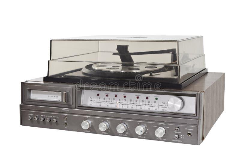 Weinlesesiebziger jahre 8 Spur-Stereorekordspieler lizenzfreies stockbild