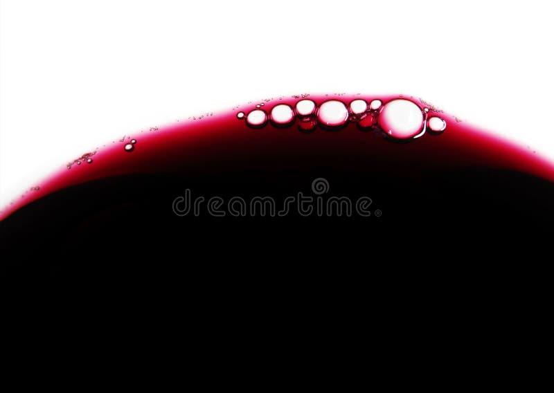 Weinluftblasen lizenzfreie stockfotografie