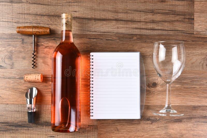 Weinprobestillleben lizenzfreies stockfoto
