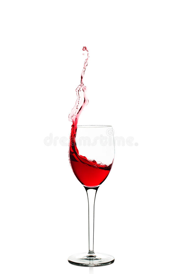 Weinspritzen stockbilder