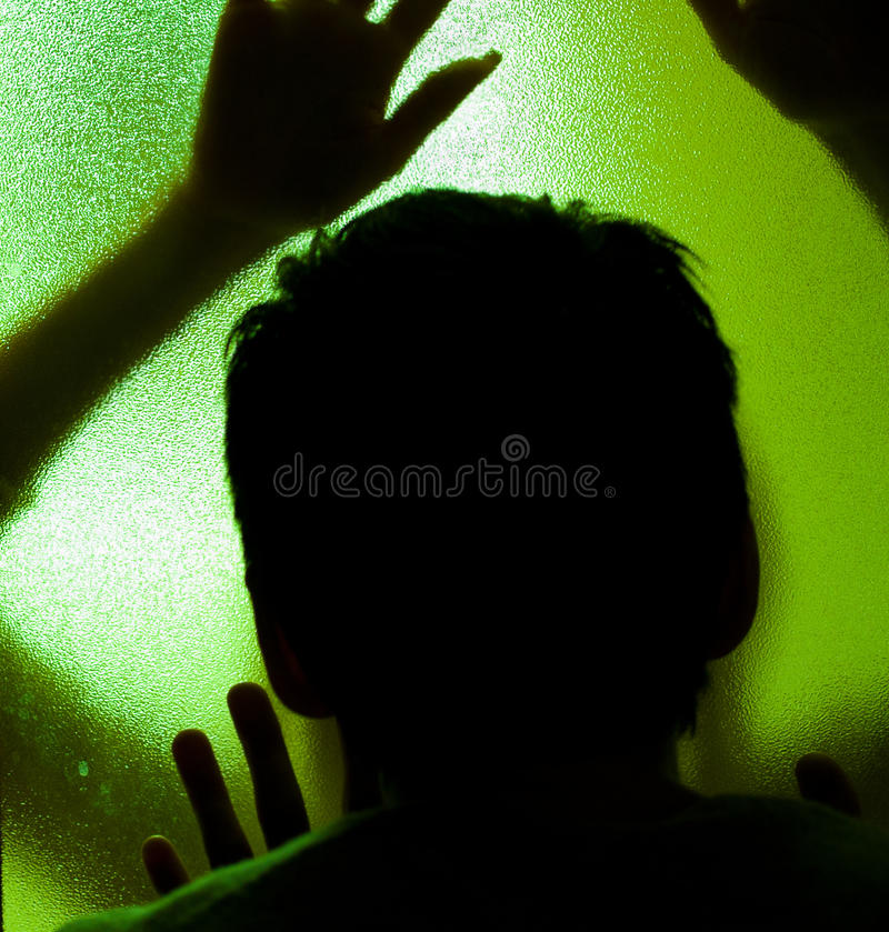 Free Weird Silhouettes Royalty Free Stock Images - 22035429