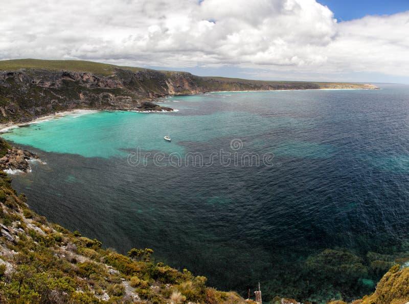 Weirs όρμος, νησί καγκουρό στοκ εικόνες