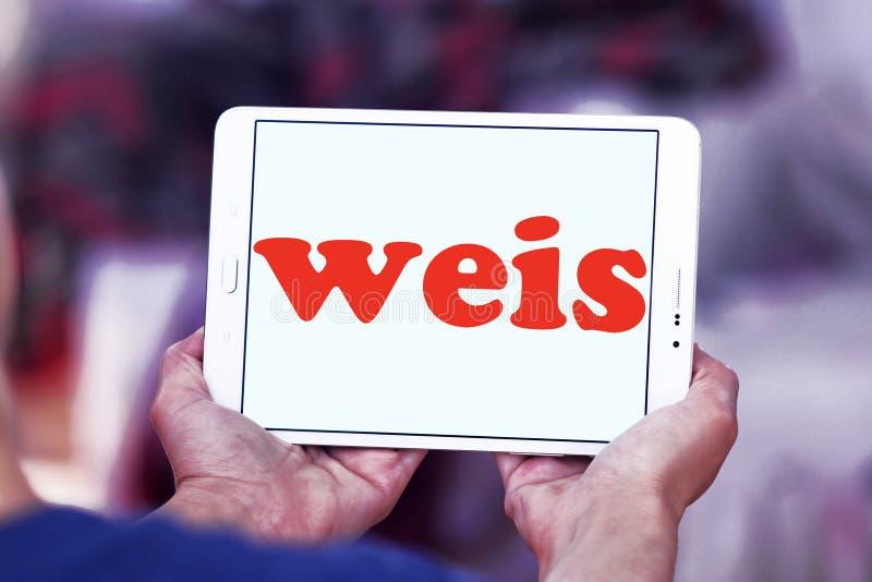 Weis comercializa el logotipo imagen de archivo