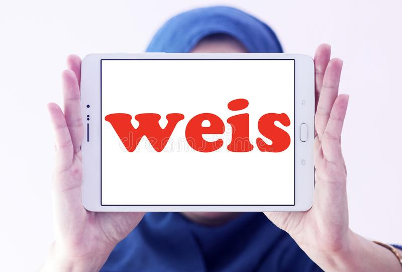 Weis comercializa el logotipo foto de archivo libre de regalías