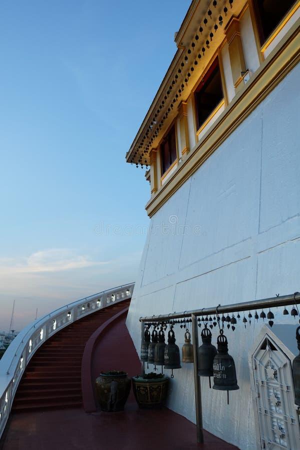 Weise herauf den Tempel stockbilder