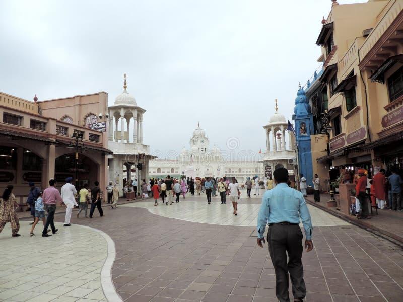 Weise zum goldenen Tempel, Amritsar, Indien lizenzfreies stockfoto