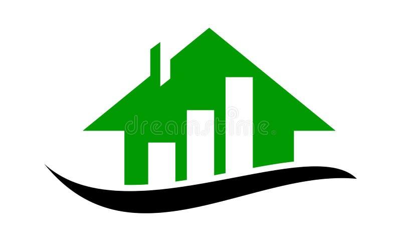 Weise zur Eigentums-Investition lizenzfreie abbildung