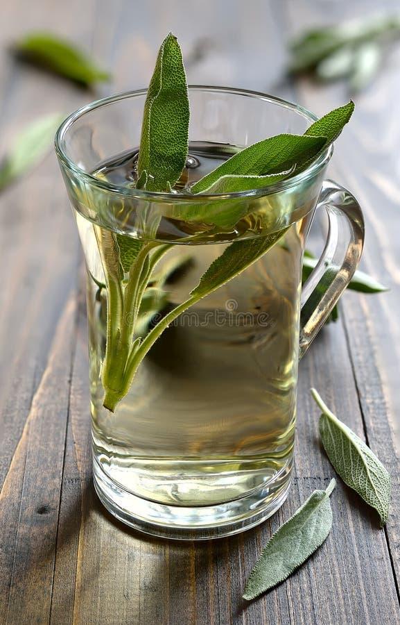Weiser Tee lizenzfreies stockbild