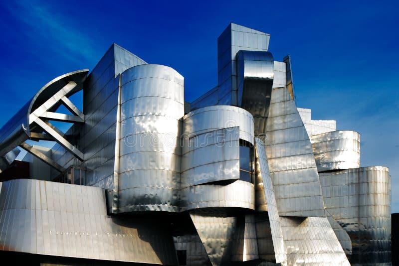 Weisman Art Museum, universidad de Minnesota en Minneapolis, los E.E.U.U. imagen de archivo