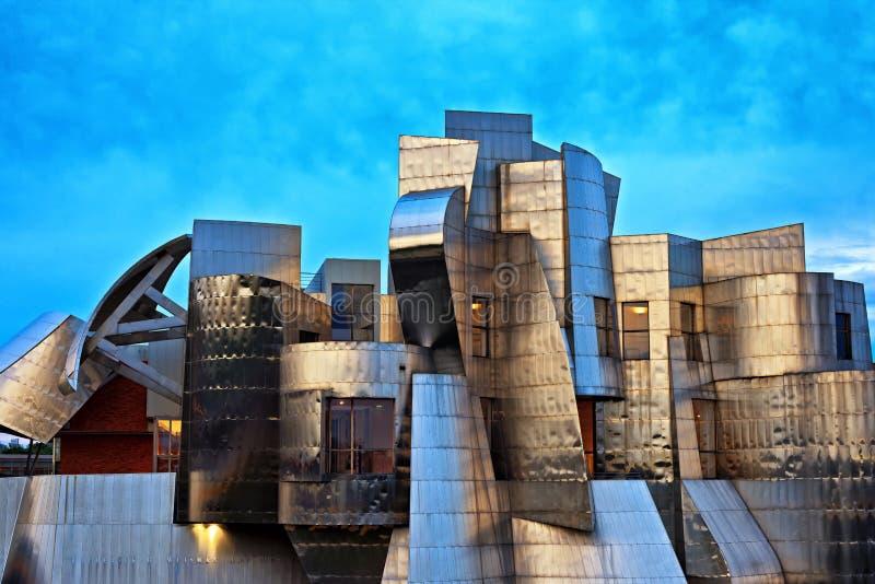 Weisman Art Museum, università di città universitaria di Minnesota, Minneapolis immagine stock libera da diritti