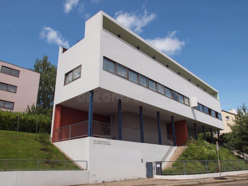 Weissenhof Siedlung à Stuttgart photo libre de droits