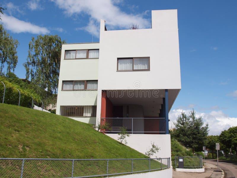 Weissenhof Siedlung à Stuttgart image libre de droits