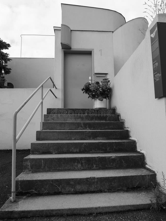 Weissenhof Siedlung à Stuttgart image stock