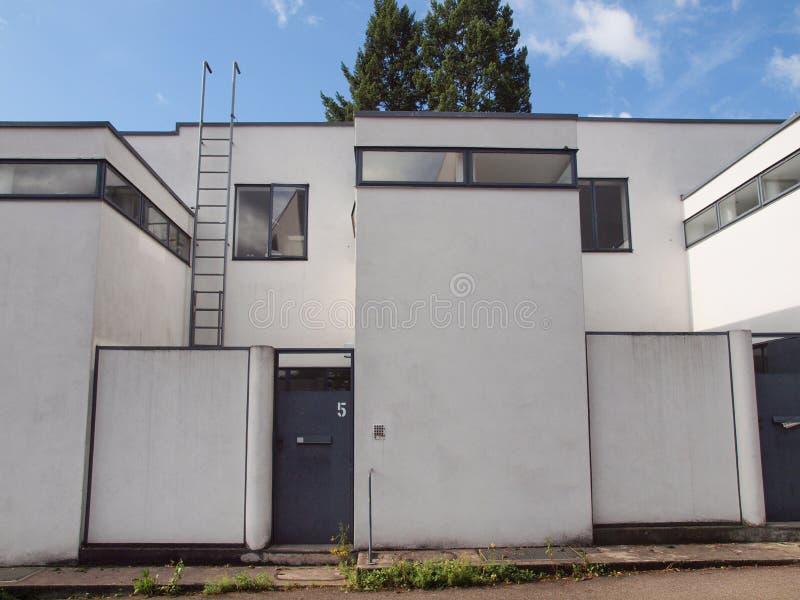 Weissenhof Siedlung à Stuttgart images stock